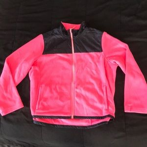 Pink and black jacket